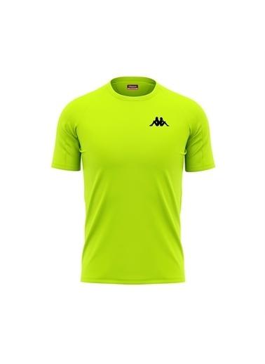 Kappa Poly T-Shirt Bux Sarı